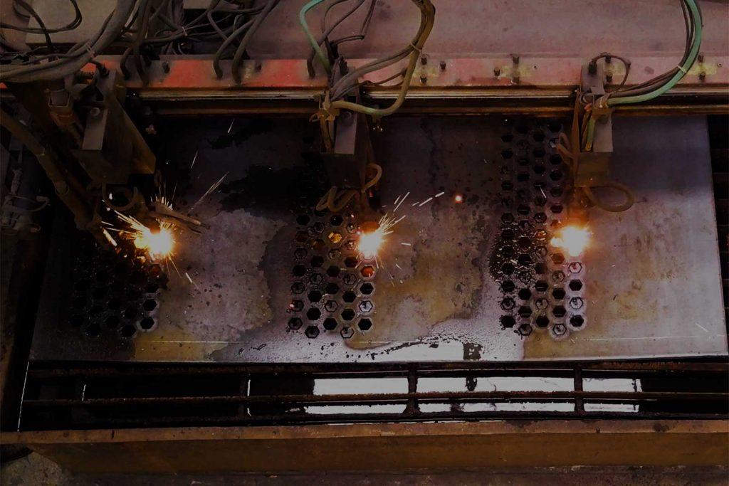 Plasma Burning Table